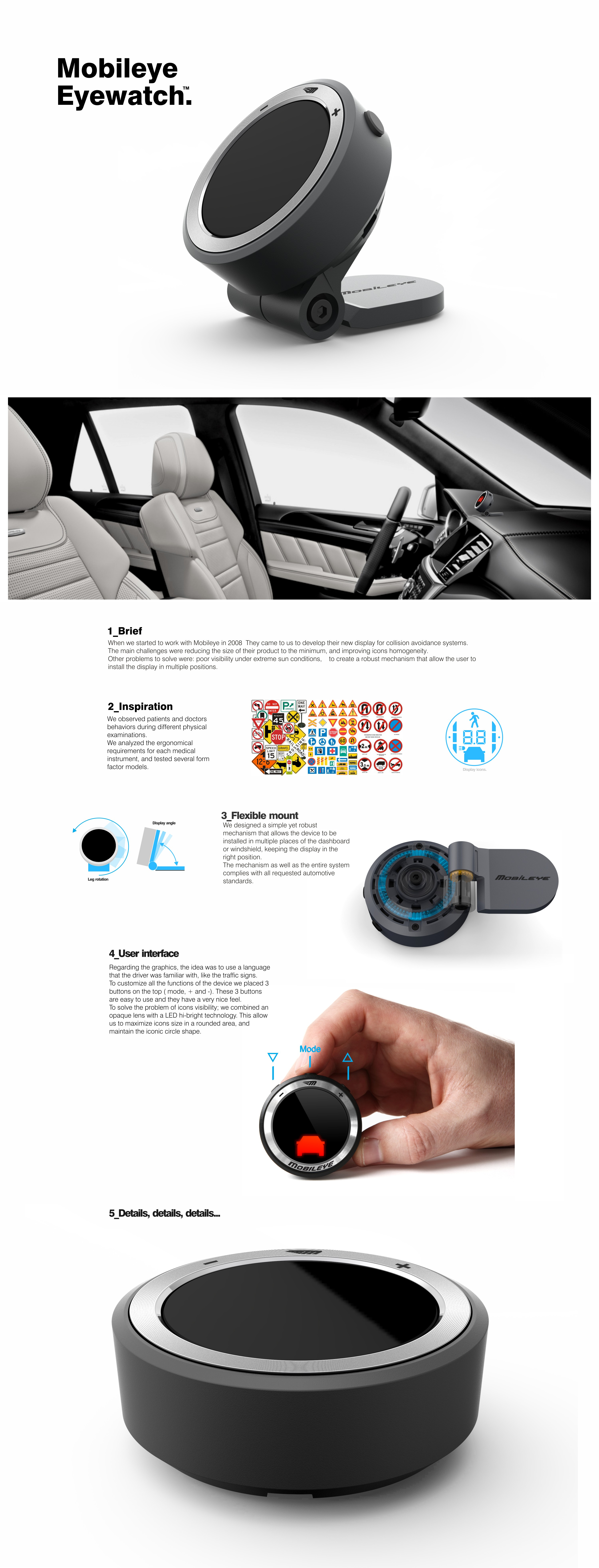 MOBILEYE EYEWATCH DESIGN